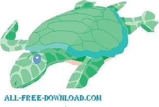 Turtle Swimming 1