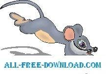 free vector Mouse Running 2