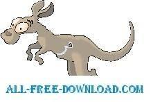 free vector Kangaroo Zipper Pouch