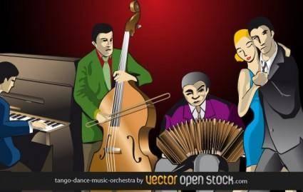 Tango-dance-music-orchestra