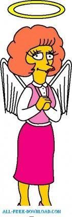 Maude Flanders 01 The Simpsons