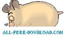 free vector Hamster Sniffing Food