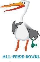 free vector Stork 2