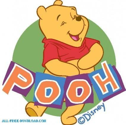 free vector Winnie the Pooh Pooh 044