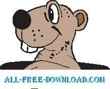 free vector Gopher 3