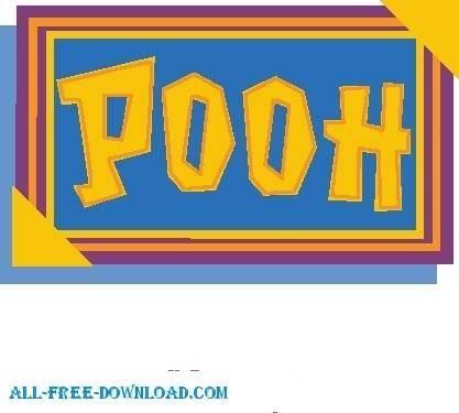 free vector Winnie the Pooh Pooh 032