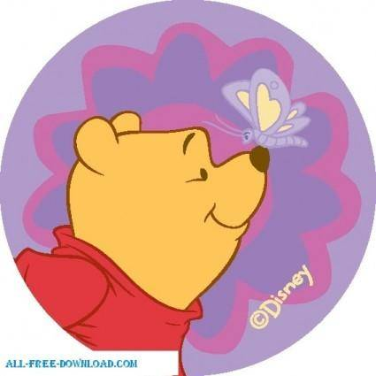 free vector Winnie the Pooh Pooh 016
