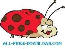 free vector Ladybug 16