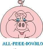 free vector Pig 16