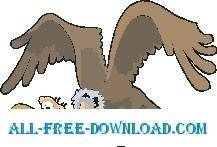 free vector Vulture Flying 2