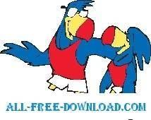 free vector Toucans 1