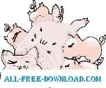 Pig Feeding Piglets 1