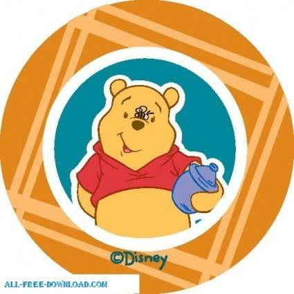 free vector Winnie the Pooh Pooh 008
