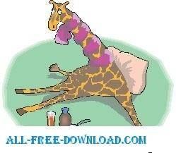 Giraffe Sick 2
