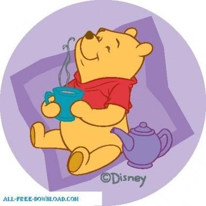 free vector Winnie the Pooh Pooh 057