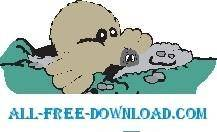 free vector Mole in Ground