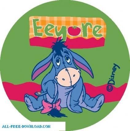 Winnie the Pooh Eeyore 009