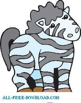 free vector Zebra 08