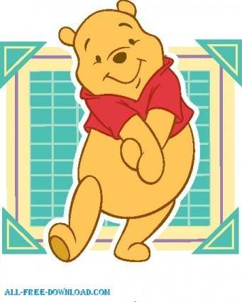 free vector Winnie the Pooh Pooh 041