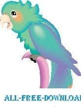 free vector Parrot 25