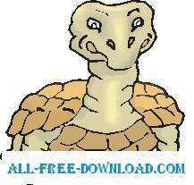 free vector Tortoise Happy