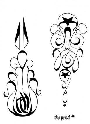 free vector Free tatoo vector