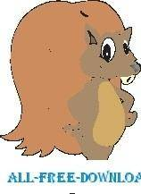 free vector Squirrel 07