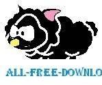 free vector Sheep Black