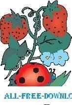 free vector Ladybug on Leaf 2