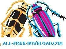 free vector Roaches