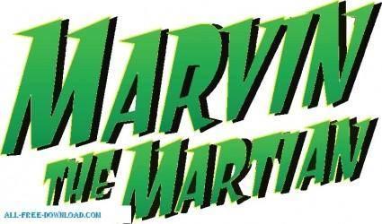 free vector Duck Dodgers marvinlogo