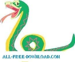 free vector Snake 34