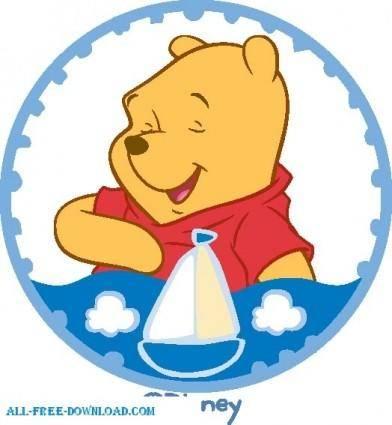 free vector Winnie the Pooh Pooh 037
