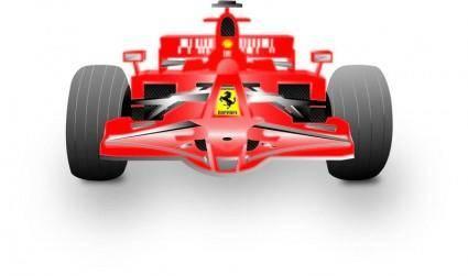 free vector Ferrari Formula 1
