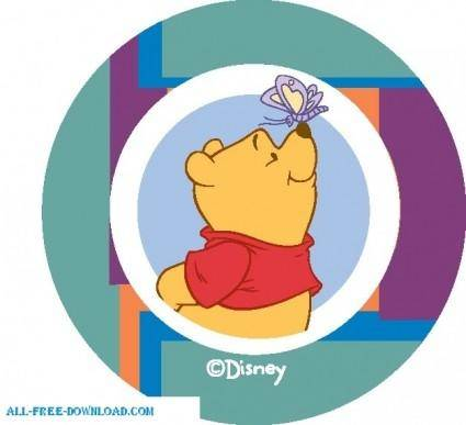 free vector Winnie the Pooh Pooh 018