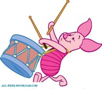 Winnie the Pooh Piglet 007