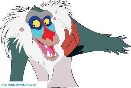The Lion King Rafiki004