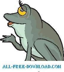 free vector Frog 26
