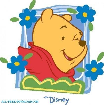 free vector Winnie the Pooh Pooh 007
