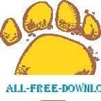 free vector Paw Print 1