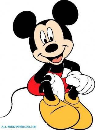 free vector Mickey Mouse 002