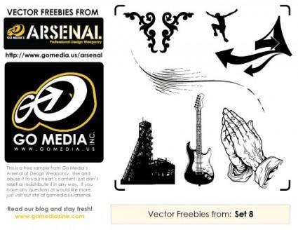 free vector Free Vectors: Set 8 Sampler