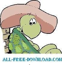 free vector Turtle in Sombrero