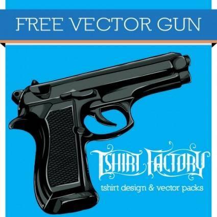 free vector Free Vector Gun