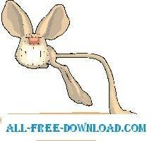 free vector Jerboa Grinning