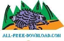 free vector Porcupine 8