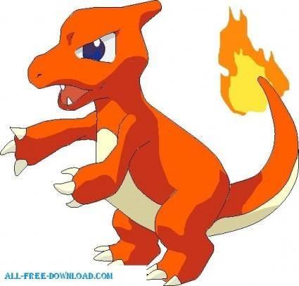free vector Pokemon 005