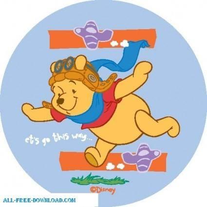 free vector Winnie the Pooh Pooh 056