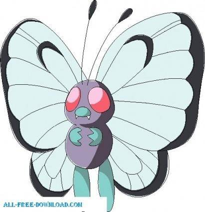 free vector Pokemon 012