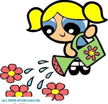 free vector Bubbles 004 Powerpuff Girls
